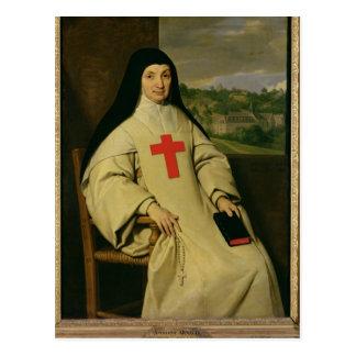 Mutter Angelique Arnauld Äbtissin Postkarte