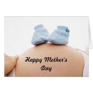 Mutter-Baby der Mutter Tages Karte