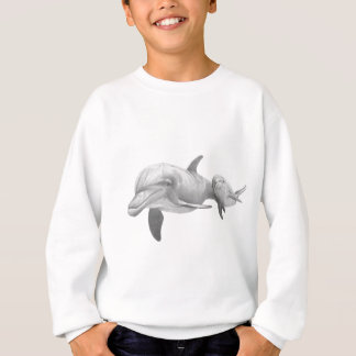 MUTTER-DELPHIN-LIEBE SWEATSHIRT