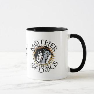 Mutter der Hundekaffee-Tasse Tasse