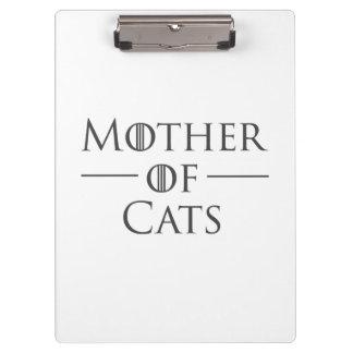 Mutter der Katzen Klemmbrett