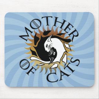 Mutter der Katzen-Mausunterlage Mousepads