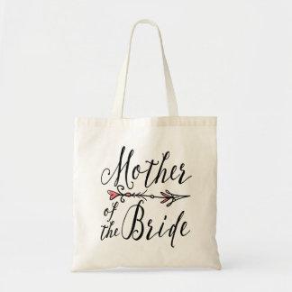 Mutter der Taschen-Tasche des Braut-Stamm-  Budget Stoffbeutel