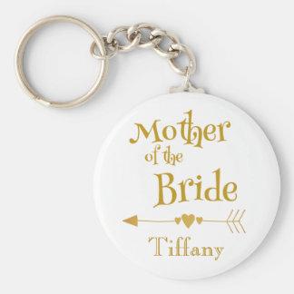 Mutter des Braut-Hochzeits-Gedächtnisses Schlüsselanhänger