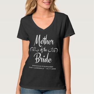 Mutter des Braut-lustigen Proben-Abendessens T-Shirt