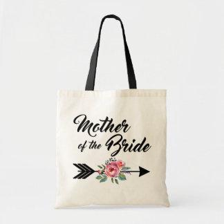 Mutter des Braut-Pfeiles Budget Stoffbeutel