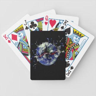 Mutter Erden-Explosion Bicycle Spielkarten