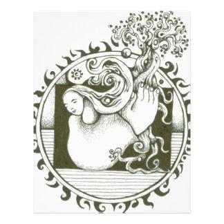 Mutter Erden-Sammlung in Schwarzweiss 21,6 X 27,9 Cm Flyer
