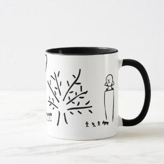 Mutter Gans in einer Dürre Tasse