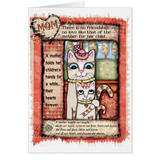 Mutter-Geburtstags-Tribut-Karte Grußkarte
