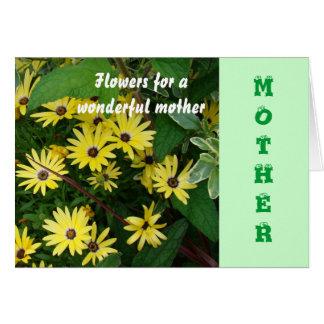 Mutter, Gelbsterne Karte