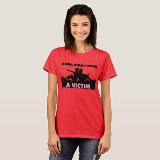 Mutter hob nicht einen Opfer-T - Shirt an