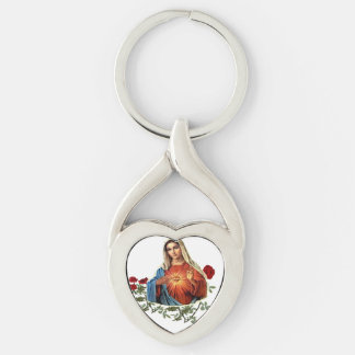 Mutter-Mary-Entwürfe Schlüsselanhänger