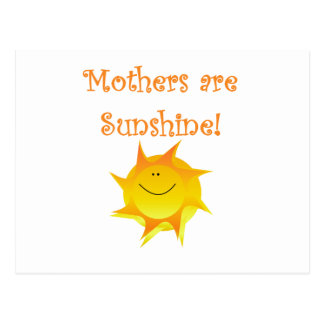 Mütter sind Sonnenschein-T - Shirts und Geschenke Postkarte