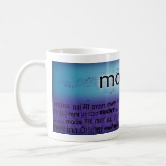 """Mutter"" - Sprachen Kaffeetasse"