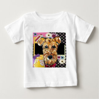 MUTTER-TAG AIREDALE BABY T-SHIRT