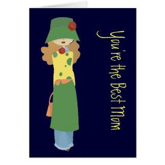 Mutter-Tag von der Jugendlichen Karte