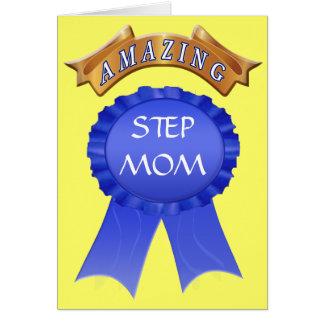 Mutter-Tageskarte für Stiefmütter - fantastische Karte