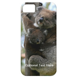 Mutter-und Baby-Koala iPhone 5 Schutzhülle