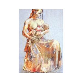 Mutter und Kind Leinwanddrucke