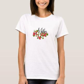 Mutter und Rosen T-Shirt