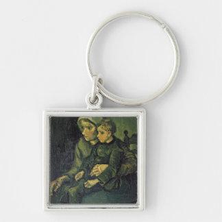 Mutter Vincent van Goghs | und Kind, 1885 Schlüsselanhänger