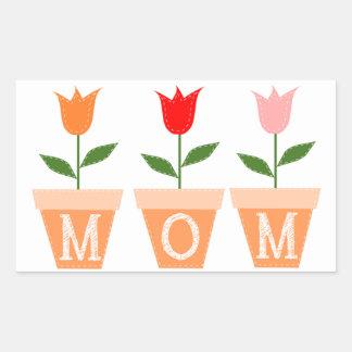 Muttertag Rechteckiger Aufkleber