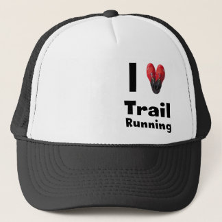 "Mütze ""I love Trail Running """