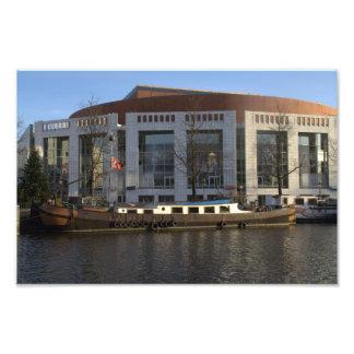 Muziektheater Amsterdam Photodruck