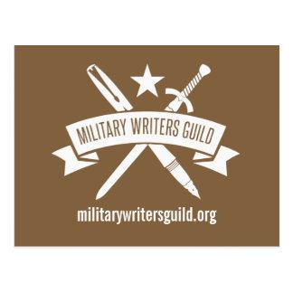 MWG Logopostkarte, Kojote Brown Postkarte