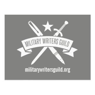 MWG Logopostkarte, schikanieren Grau Postkarte