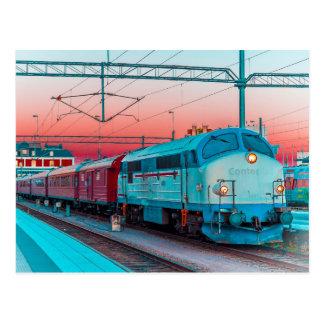 MX 1009 bei Kalmar C, Südschweden Postkarte