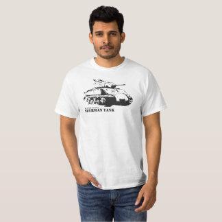 My other der Sherman Tank T-shirt - whit is zu car