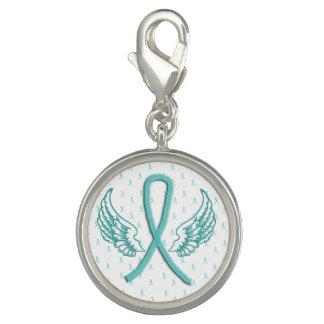 Myasthenia Gravis Bewusstsein Wings Armband-Charme Foto Charms