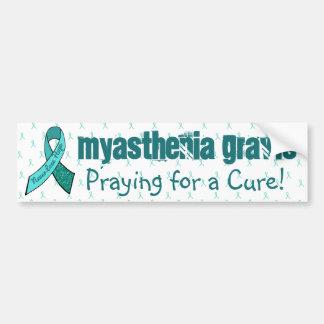 Myasthenia Gravis Bewusstseins-Autoaufkleber Autoaufkleber
