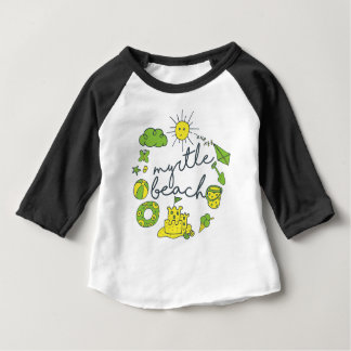 Myrtle- Beachskript Baby T-shirt
