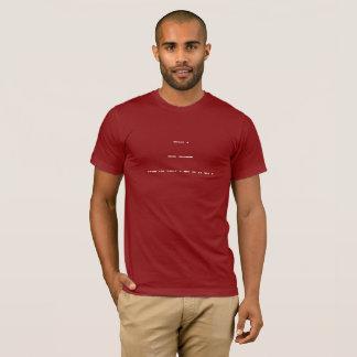 Mysteriös seien Sie mein Valentinsgruß T-Shirt