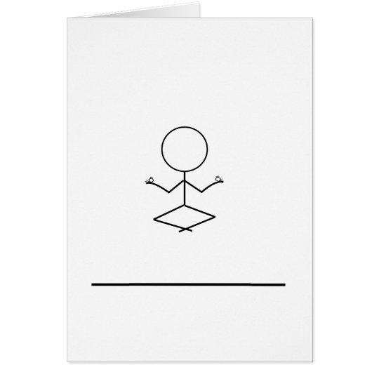 mysteriöse Anmerkungskarte Mitteilungskarte
