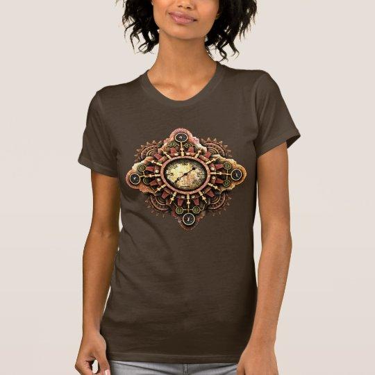 Mysteriöse Steampunk Maschine T-Shirt