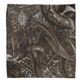 Mystische Blatt-verwickeltes ausführliches Halstuch