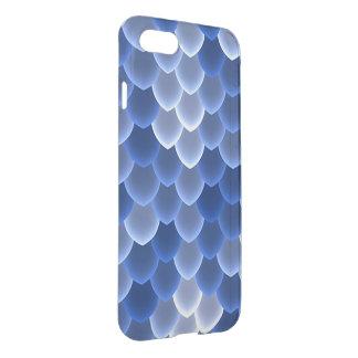 Mystische blaue und weiße Skala iPhone 8/7 Hülle