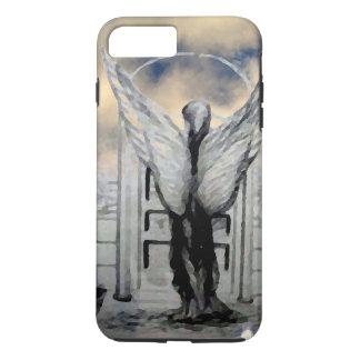 Mystische Engels-Kunst himmlischer inspirierend iPhone 8 Plus/7 Plus Hülle