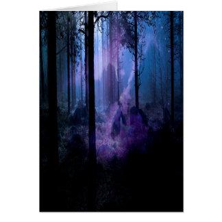 Mystische Nacht Karte