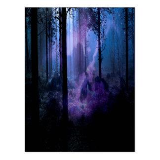 Mystische Nacht Postkarte
