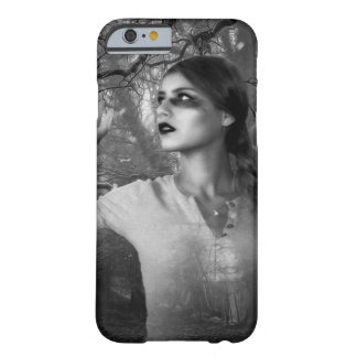 Mystische Witchy Frau im Holz-Handy-Fall Barely There iPhone 6 Hülle