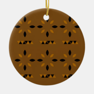 Mystischer arabischer Mandalas Rundes Keramik Ornament