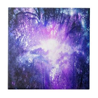 Mystischer Baum Fliese
