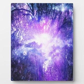 Mystischer Baum Fotoplatte