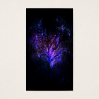 Mystischer Baum Visitenkarte
