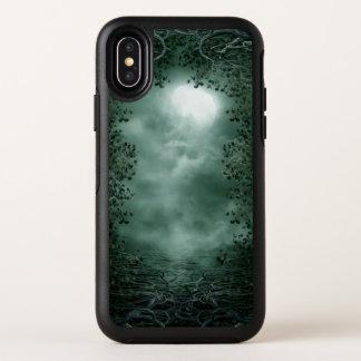 Mystischer grüner Mondschein OtterBox iPhone X OtterBox Symmetry iPhone X Hülle